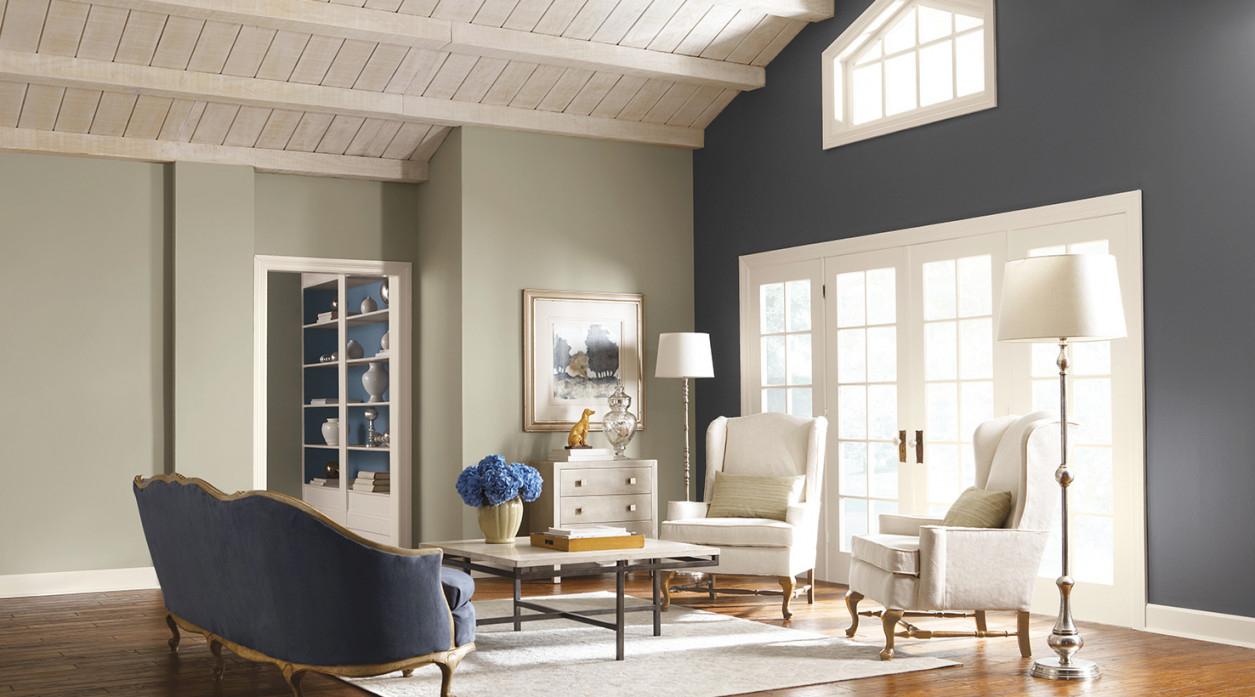 Living Room Paint Color Ideas | Inspiration Gallery inside Paint Colors For Small Living Rooms