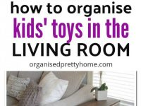 Living Room Toy Storage Ideas - Organised Pretty Home with regard to Toy Storage Ideas Living Room
