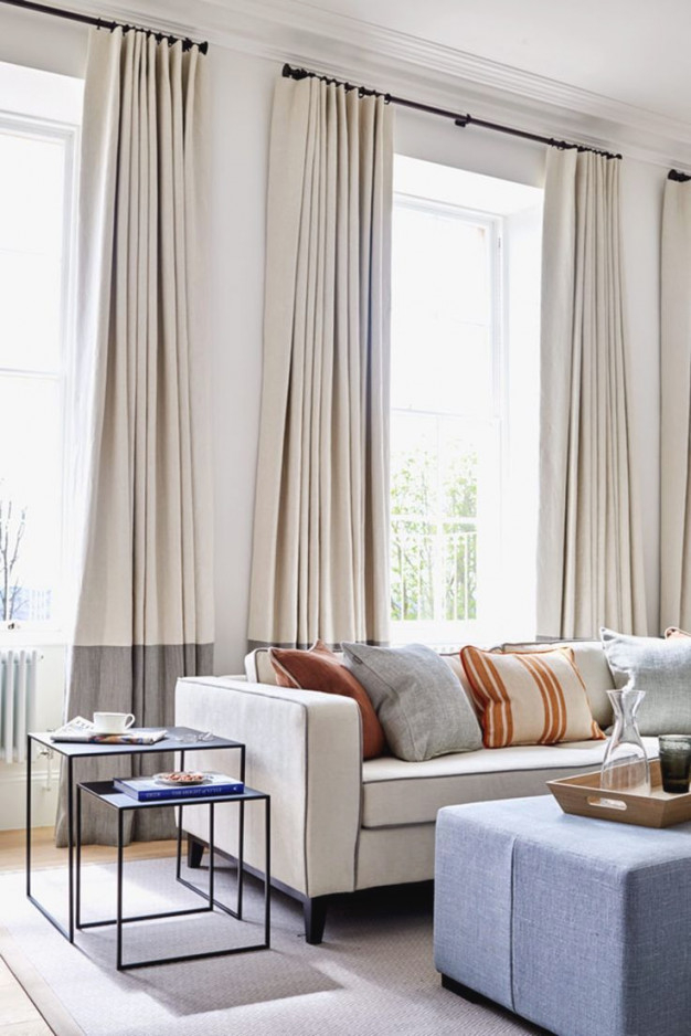 Modern Curtains Ideas – Home Interior Design Ideas for Curtain Styles For Living Rooms