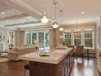 Open Concept Kitchen Living Room Small Space with Open Kitchen Living Room Design