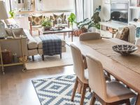 Pin On Small Spaces throughout Living And Dining Room Ideas