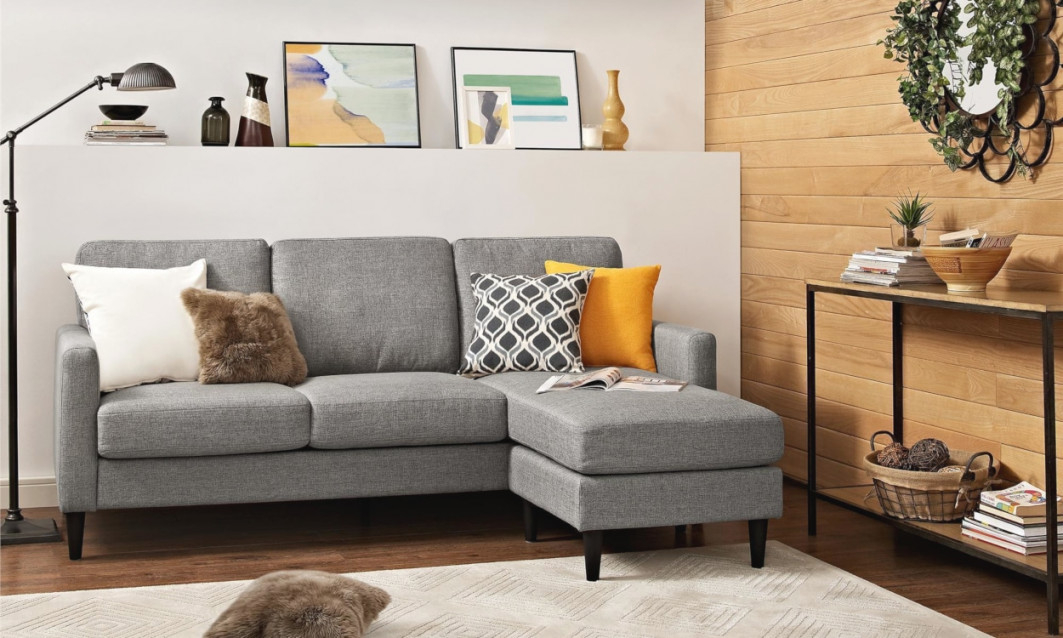 Small Sectional Sofas & Couches For Small Spaces | Overstock within Sectional For Small Living Room