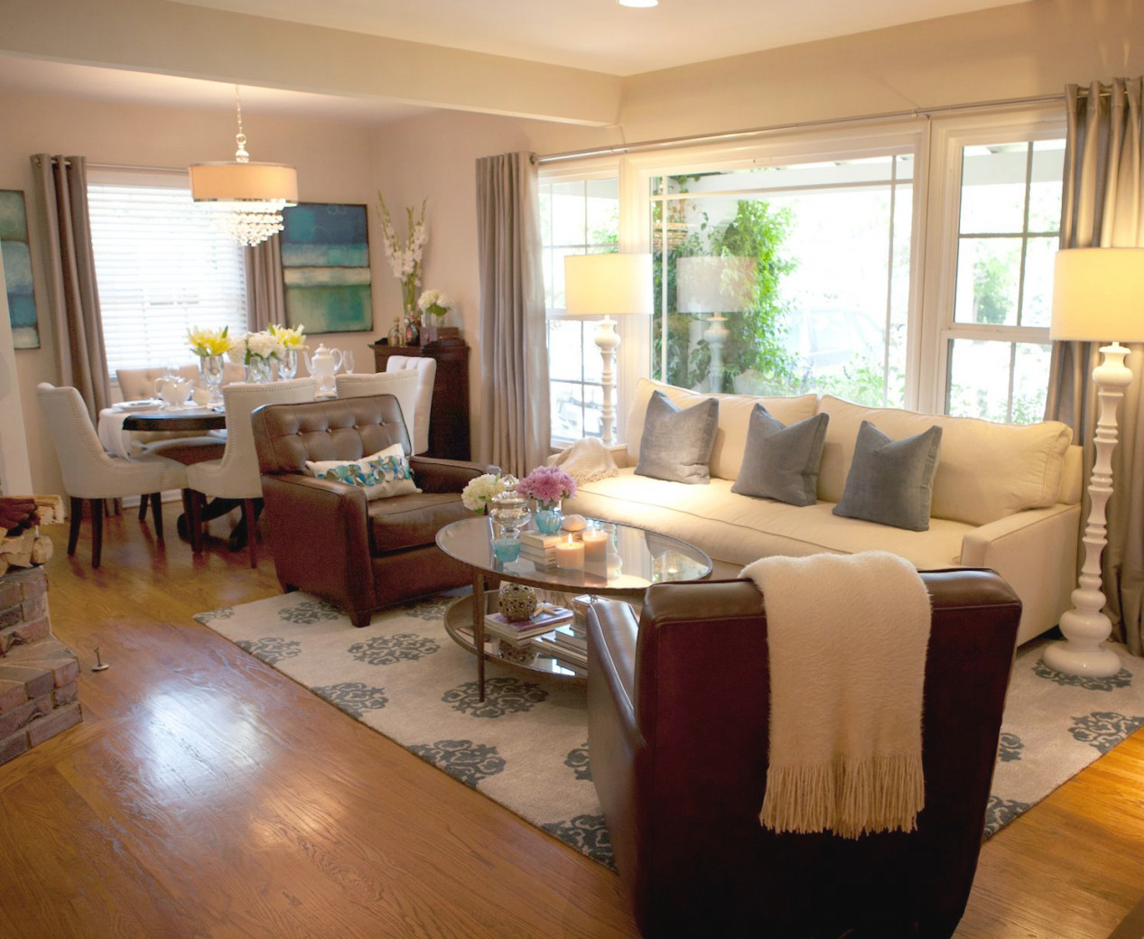The Living And Dining Room Inspiration   Timticks Interior intended for Living And Dining Room Ideas