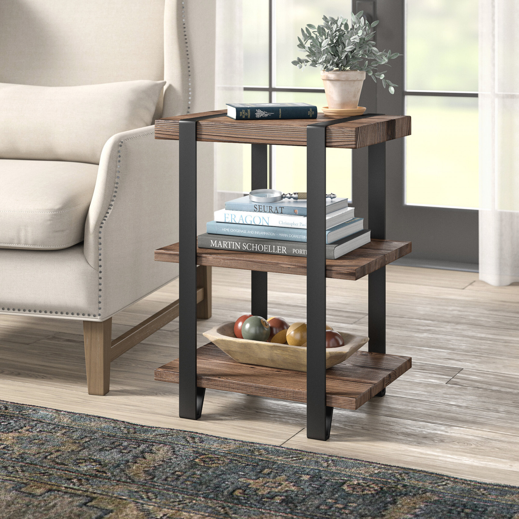 Whittlesey End Table in 9+ Awesome Inspiration For Small End Tables Living Room