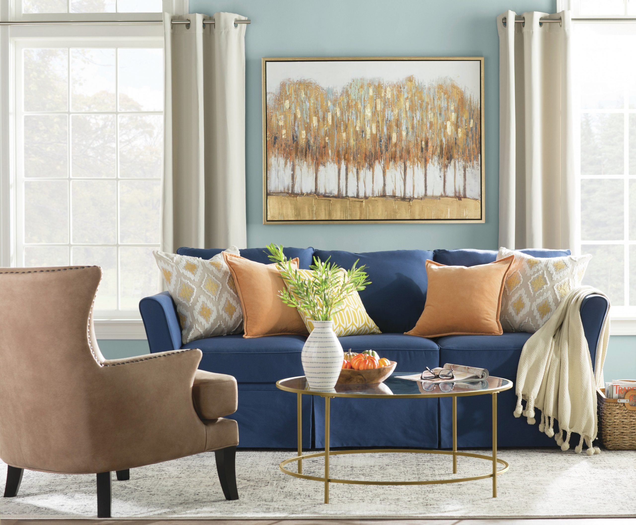Window Treatments 101: Drapes Vs. Curtains | Wayfair with regard to Living Room Curtains And Drapes