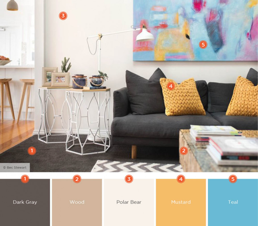 20 Inviting Living Room Color Schemes   Ideas & Inspiration for 12+ Awesome Gallery For Living Room Color Scheme Ideas