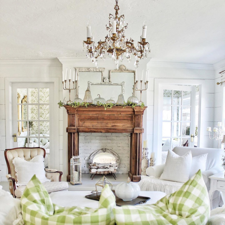 23 Stunning French Country Living Room Decor Ideas within French Country Living Room Ideas