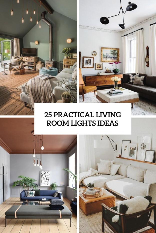 25 Practical Living Room Lights Ideas - Digsdigs inside Lighting Ideas For Living Room