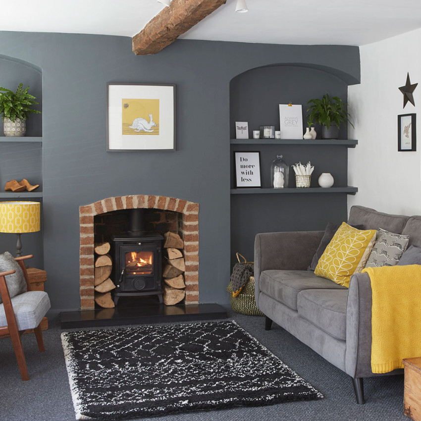 27 Grey Living Room Ideas For Gorgeous And Elegant Spaces for Gray And Teal Living Room