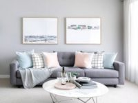 45+ Gorgeous Grey Living Room Ideas pertaining to 12+ Awesome Gallery For Purple And Grey Living Room Ideas