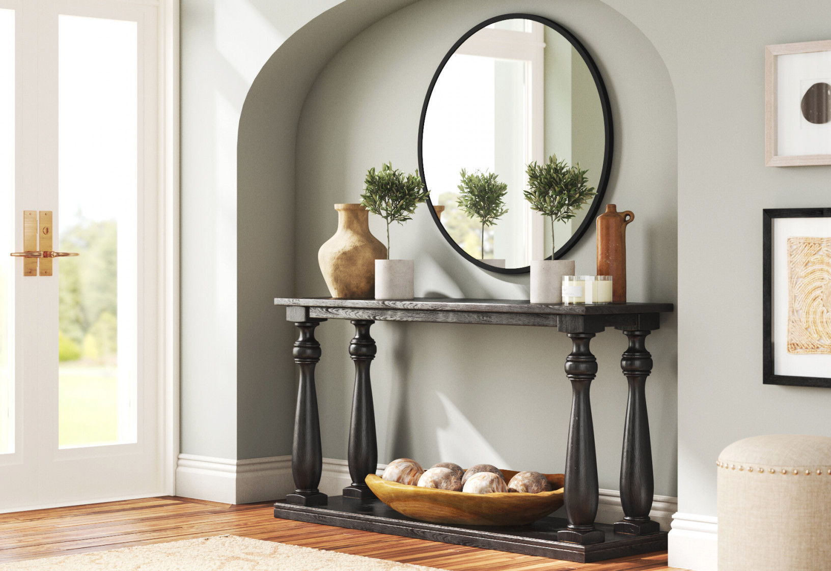 6 Ways To Style Your Console Table | Joss & Main inside Wall Tables For Living Room
