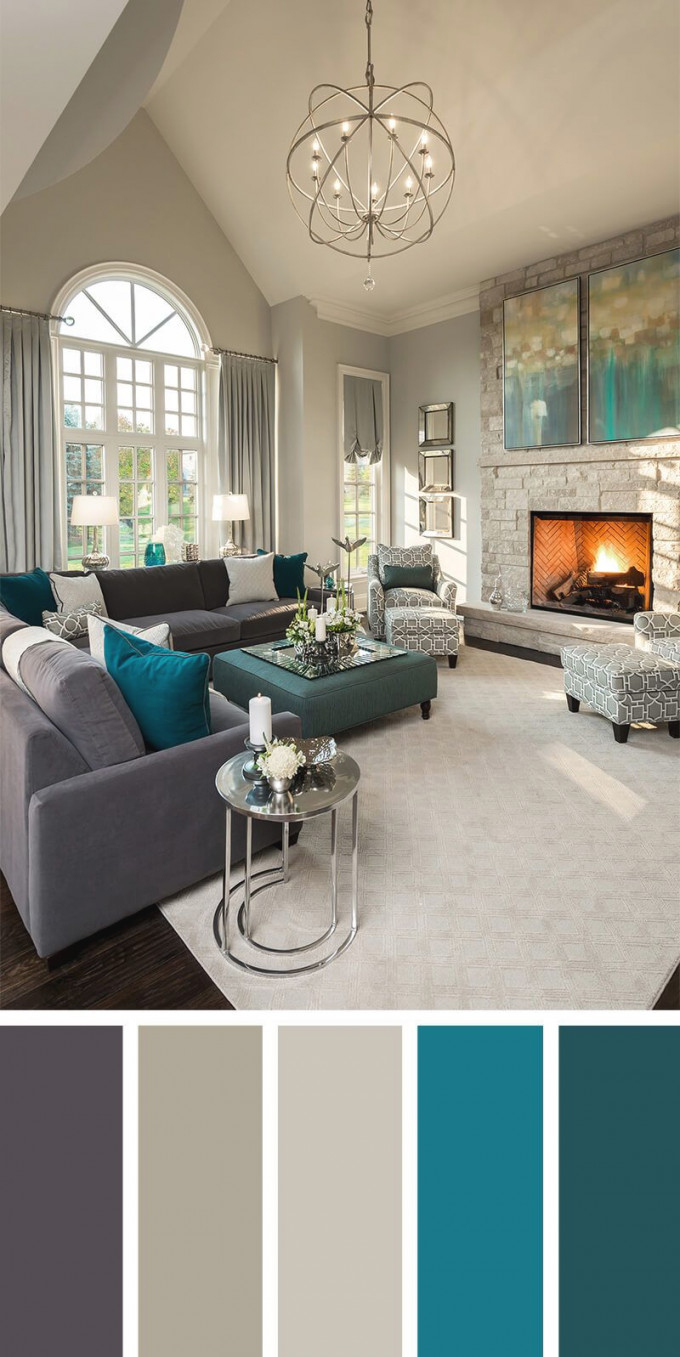 7 Living Room Color Schemes That Will Make Your Space Look intended for Living Room Color Scheme Ideas