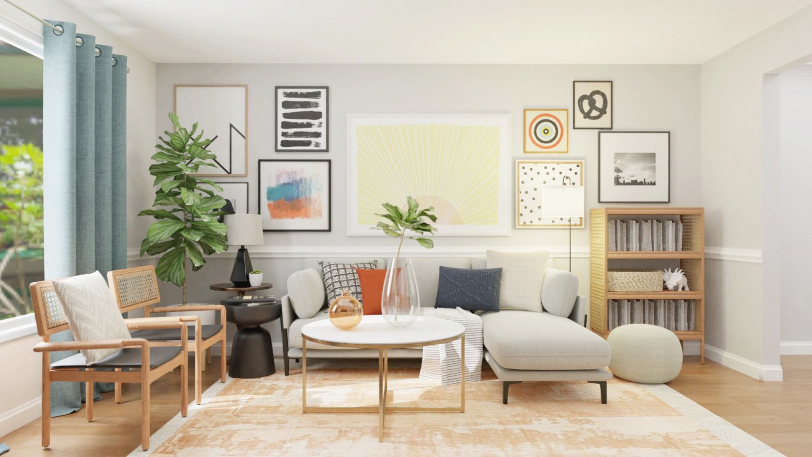 7 Living Room Decor Ideas To Freshen Up Your Home'S Look And pertaining to Ideas Gallery For Living Room Interior Design Ideas