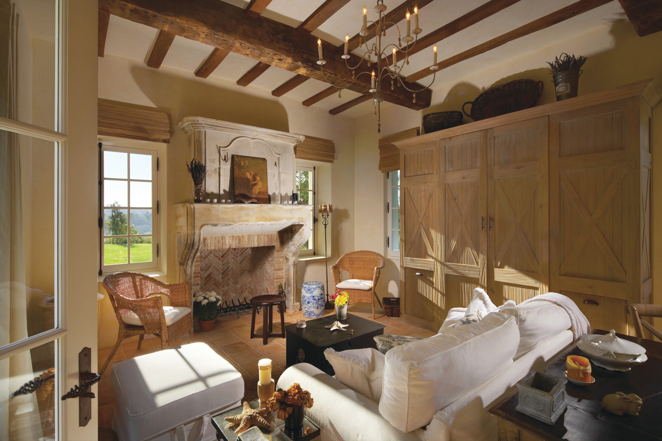 75 Beautiful French Country Living Room Pictures & Ideas throughout French Country Living Room Ideas