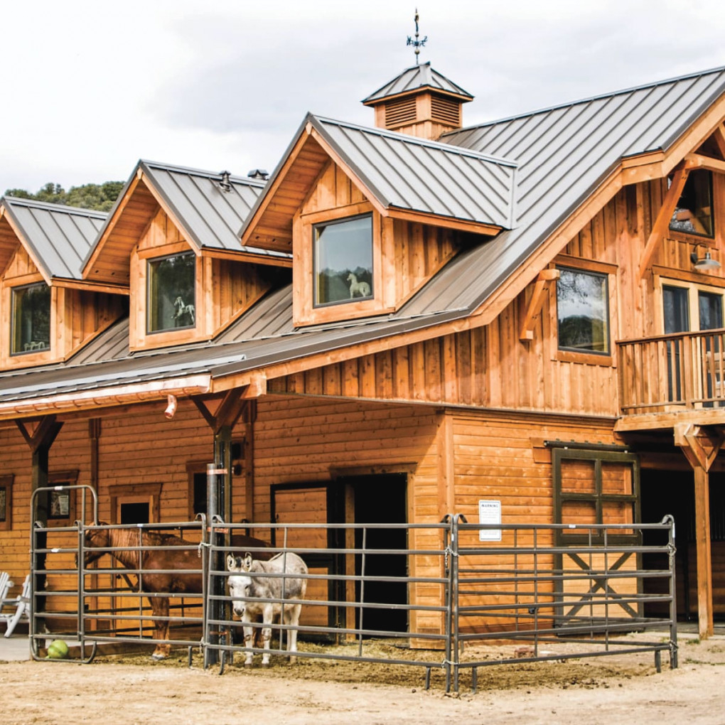 Barndominiums: Living With Your Horse – Horse&Rider within Awesome Ideas For Horse Barns With Living Quarters