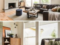Before & After – Living Room Renovation With A Recessed Tv within Living Room Ideas With Fireplace And Tv