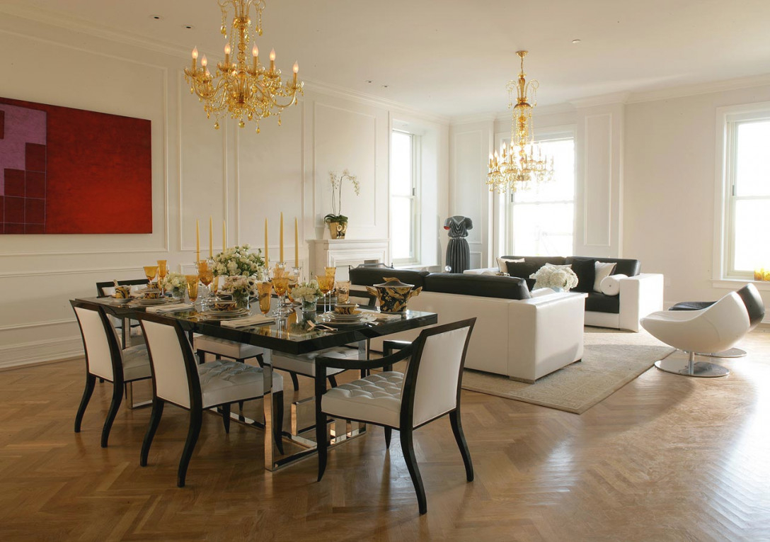 Creative Methods To Decorate A Living Room-Dining Room Combo pertaining to 13+ Beautiful Ideas For Living Room And Dining Room Combo