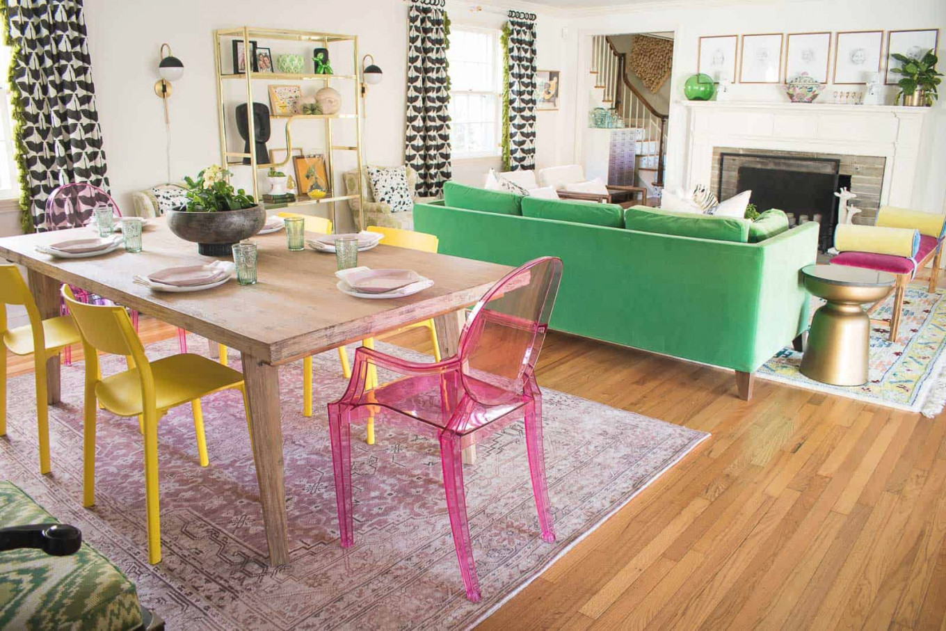 Designing A Living Room Dining Room Combo - At Charlotte'S House in Living Room And Dining Room Combo