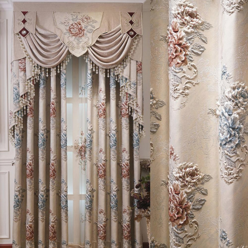 European Luxury Curtains For Window Curtains Styles For Living Room Elegant Drapes European Curtains Embroidered Curtains in 15 Beautiful Ideas Luxury Curtains For Living Room