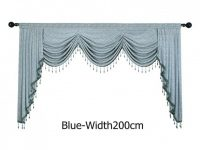 European Luxury Valances For Living Room Waterfall Valances with regard to Valance Curtains For Living Room