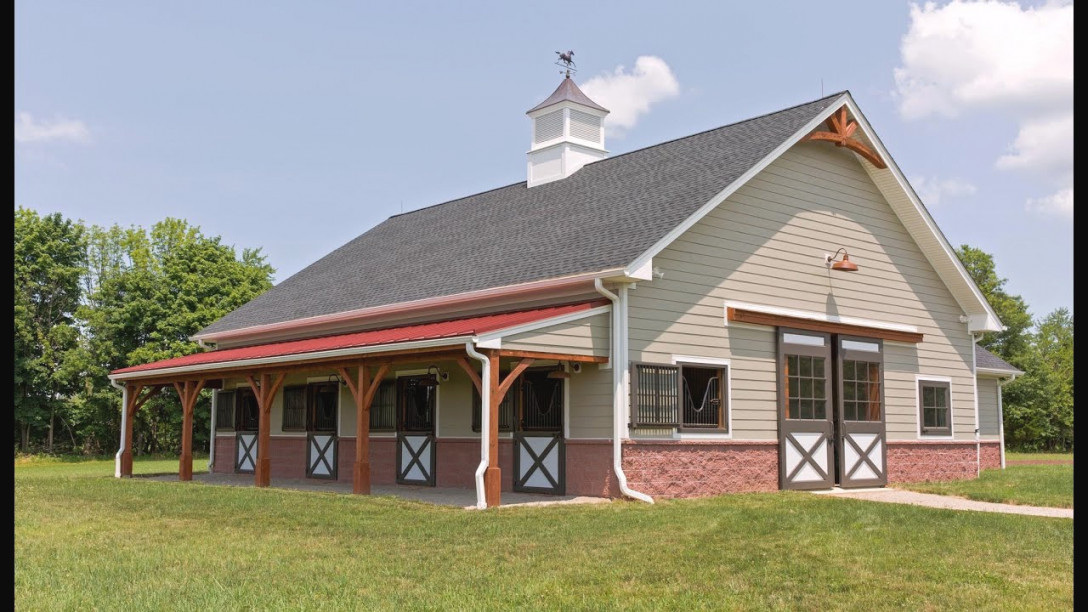 Horse Barn & Living Quarters In Pittstown Nj with regard to Awesome Ideas For Horse Barns With Living Quarters