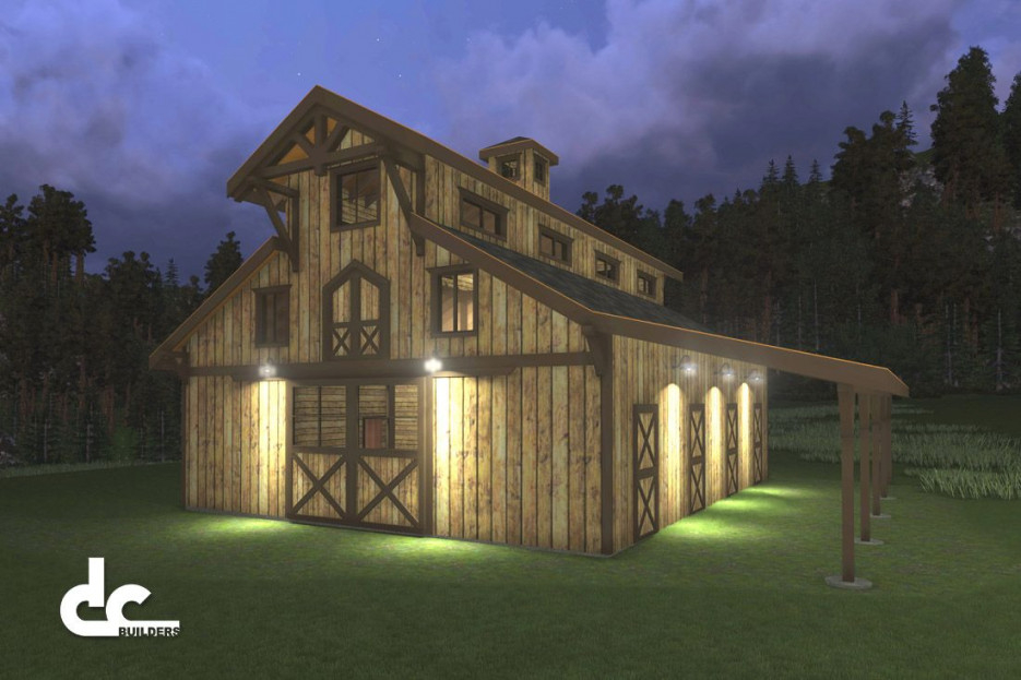 Horse Barns With Living Quarters | Horse Barn Designs | Barn with regard to Awesome Ideas For Horse Barns With Living Quarters