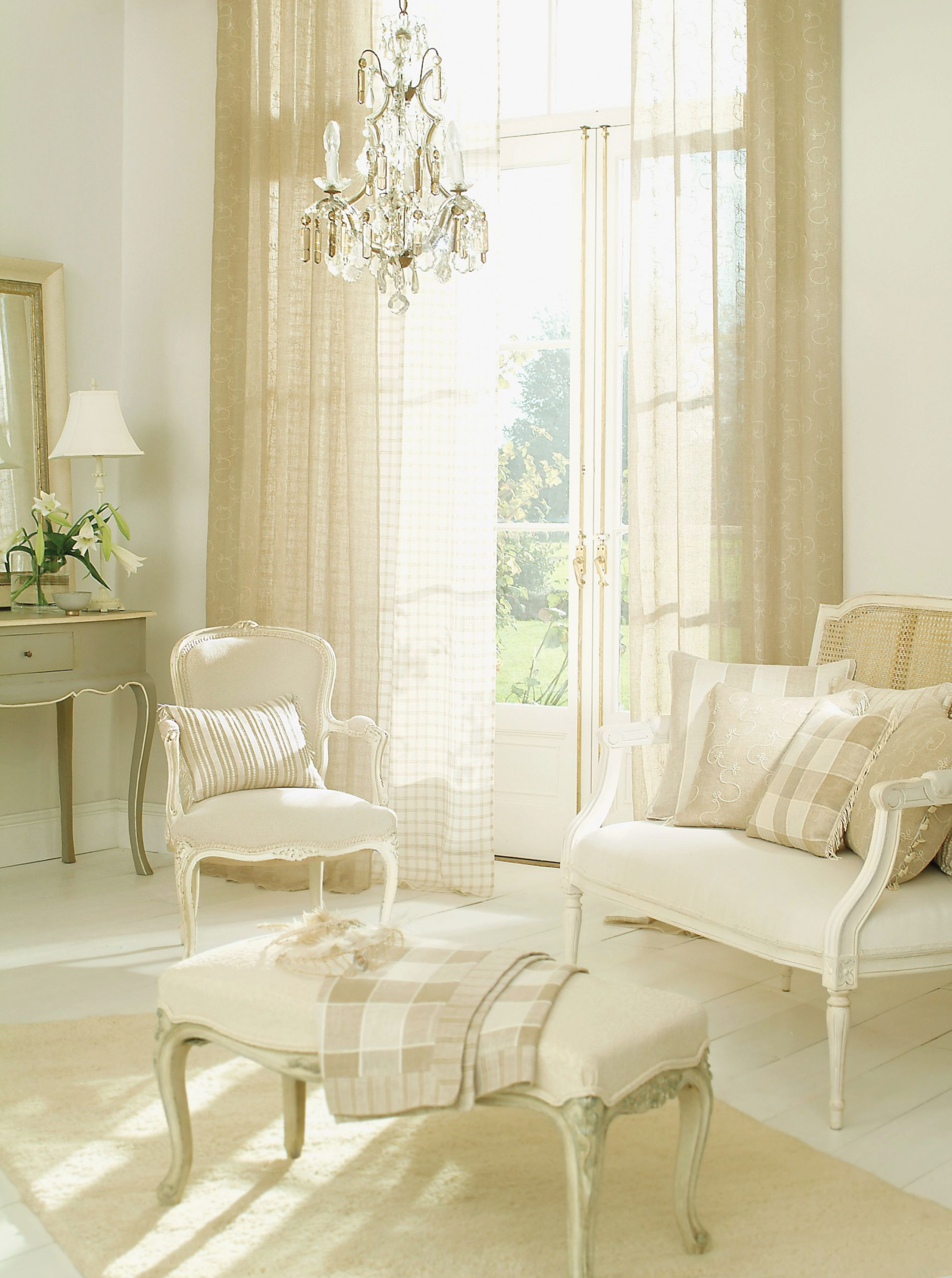 Living Room Curtains within Curtains For Large Living Room Windows