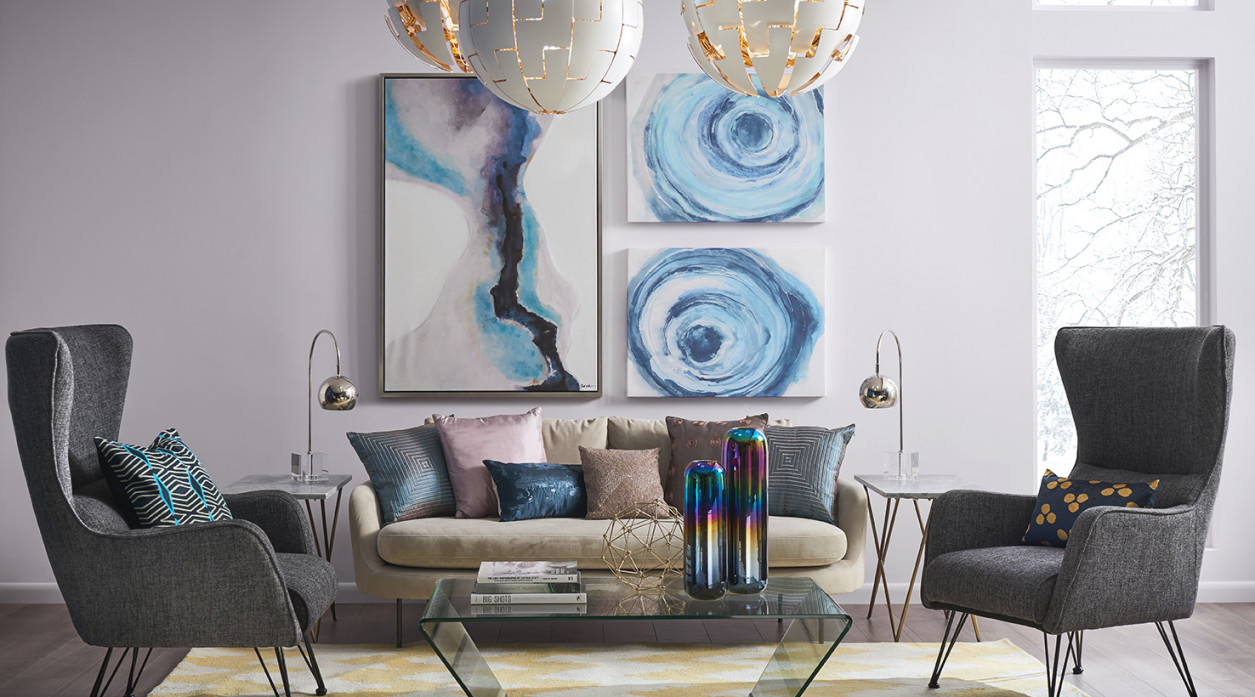 Living Room Paint Color Ideas | Inspiration Gallery for Beautiful Gallery Gray And Teal Living Room