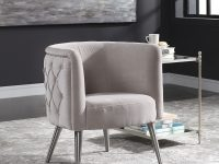 Modern Barrel Chair Bedroom Living Room Armchair Accent with Modern Chairs For Living Room