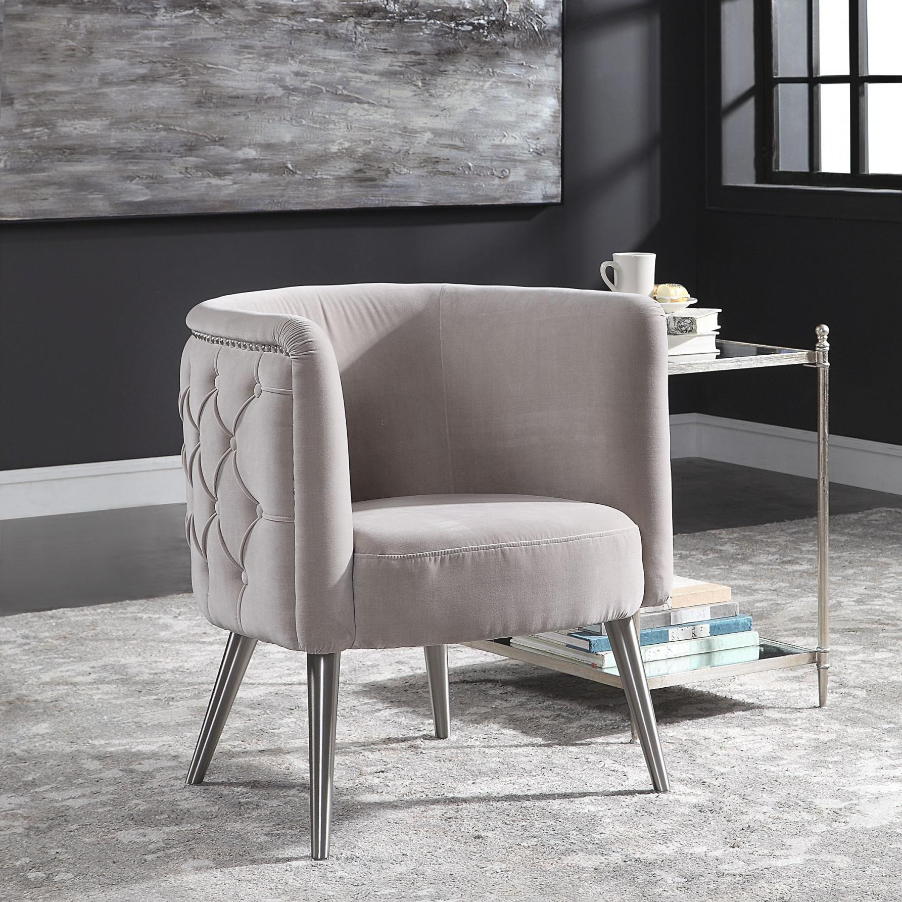 Modern Barrel Chair Bedroom Living Room Armchair Accent with Modern Chairs For Living Room
