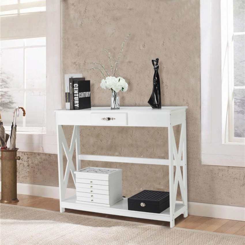 Modern Console Table Entryway Table Sofa Table Living Room intended for Wall Tables For Living Room