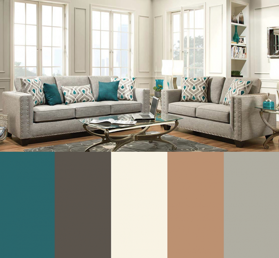 Pin On My Dream Home Design regarding Beautiful Gallery Gray And Teal Living Room