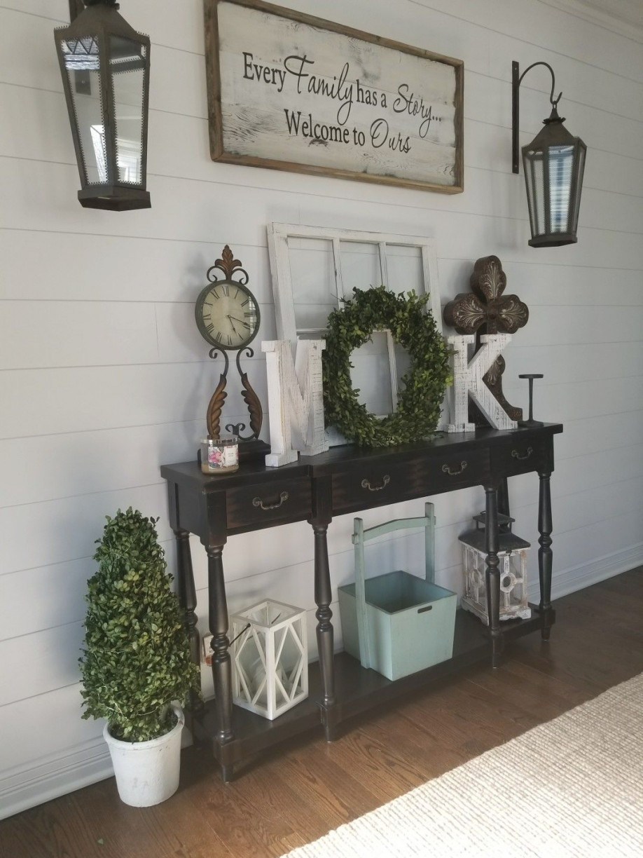 Pindeanna Hicks On Tables | Country House Decor, Home with 14+ Inspiration Gallery For Wall Tables For Living Room