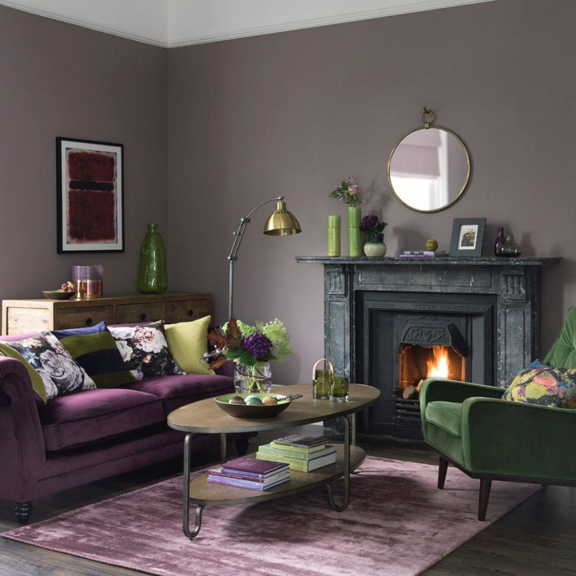 Purple And Grey Living Room Accessories | Mauve Living Room with regard to 12+ Awesome Gallery For Purple And Grey Living Room Ideas