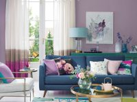 Purple Living Room Ideas | Ideal Home within 12+ Awesome Gallery For Purple And Grey Living Room Ideas