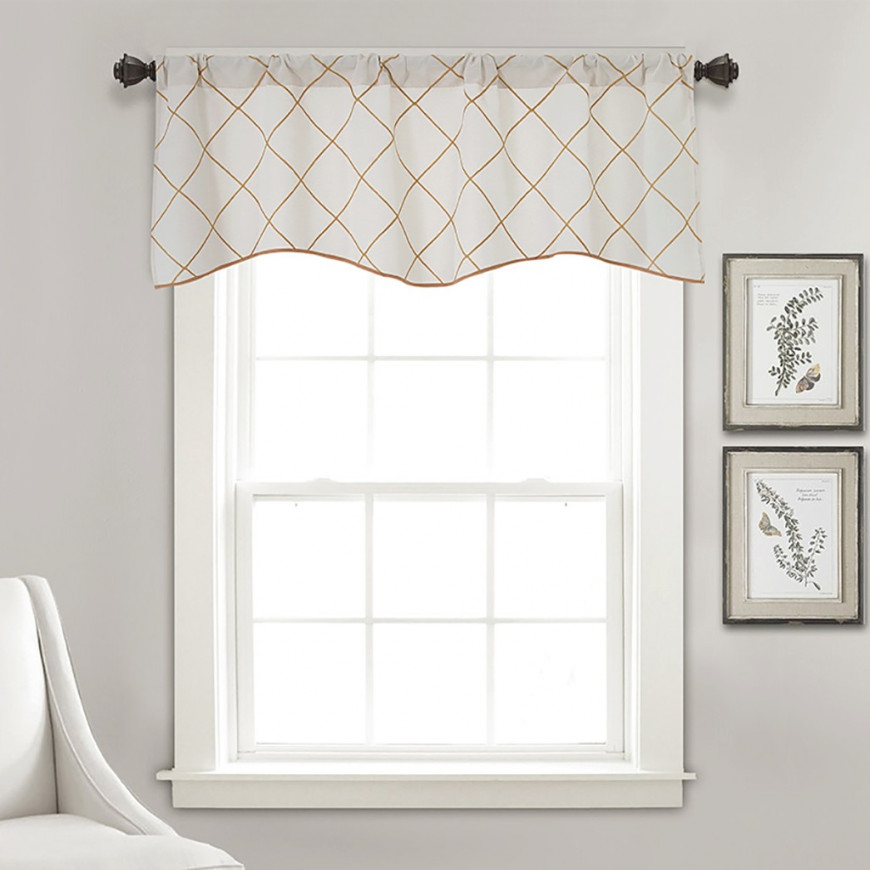 Sky Valance Curtains Extra Wide And Short Window Treatment Kitchen Living Bathroom – Walmart within Valance Curtains For Living Room