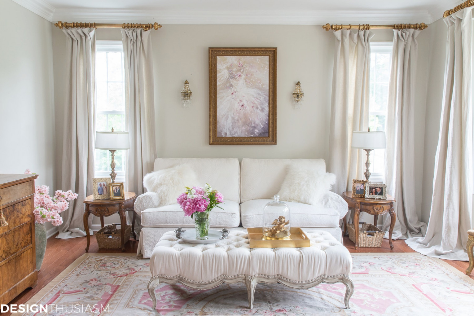 Updated French Country Living Room Decor Ideas pertaining to French Country Living Room Ideas