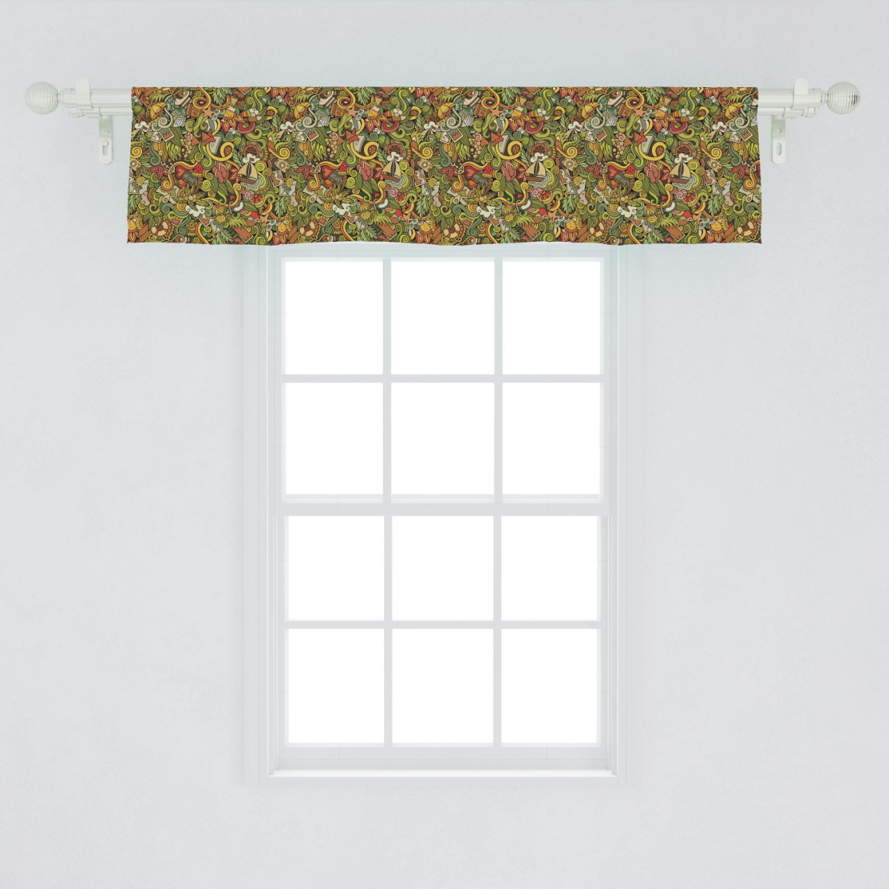 Window Valance Curtain Decor For Kitchen Living Room Bedroom regarding 14+ Inspiration Gallery For Valance Curtains For Living Room