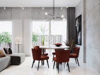 black-and-red-dining-chairs