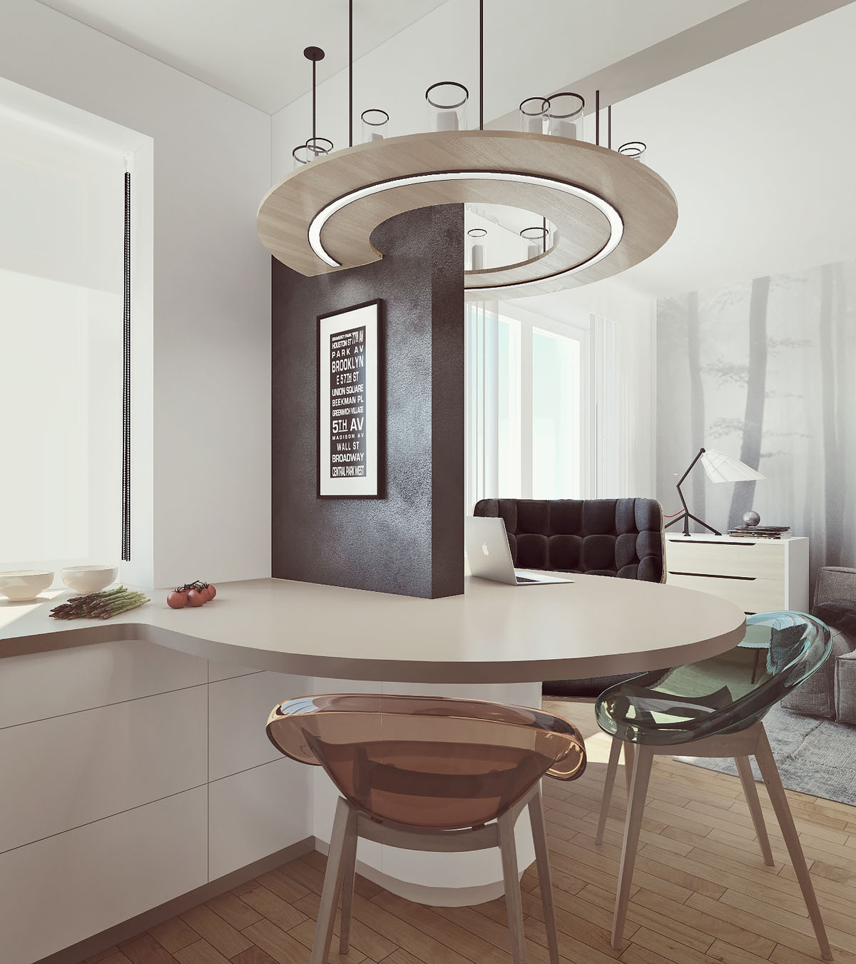curved-dining-banch