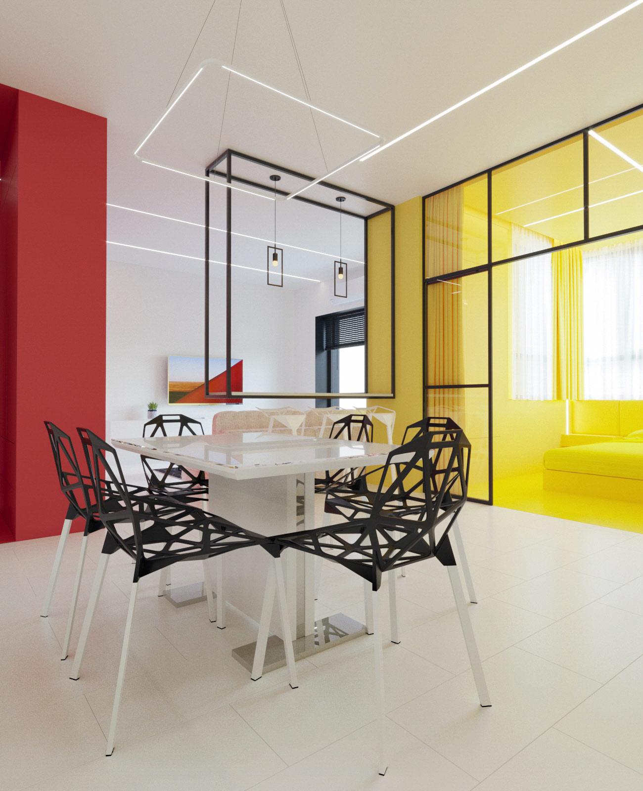 mondrian-inspired-dining-room