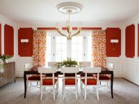red-dining-chair-cushions
