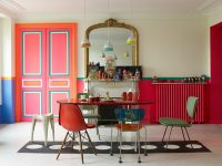 red-dining-room-sets