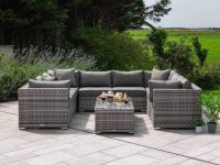 10-Piece-Outdoor-Modular-Sofa