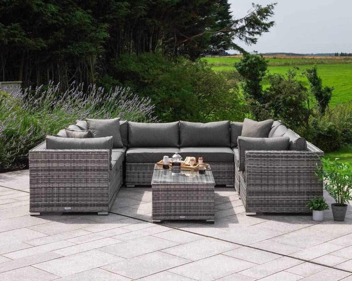10-Piece-Outdoor-Modular-Sofa