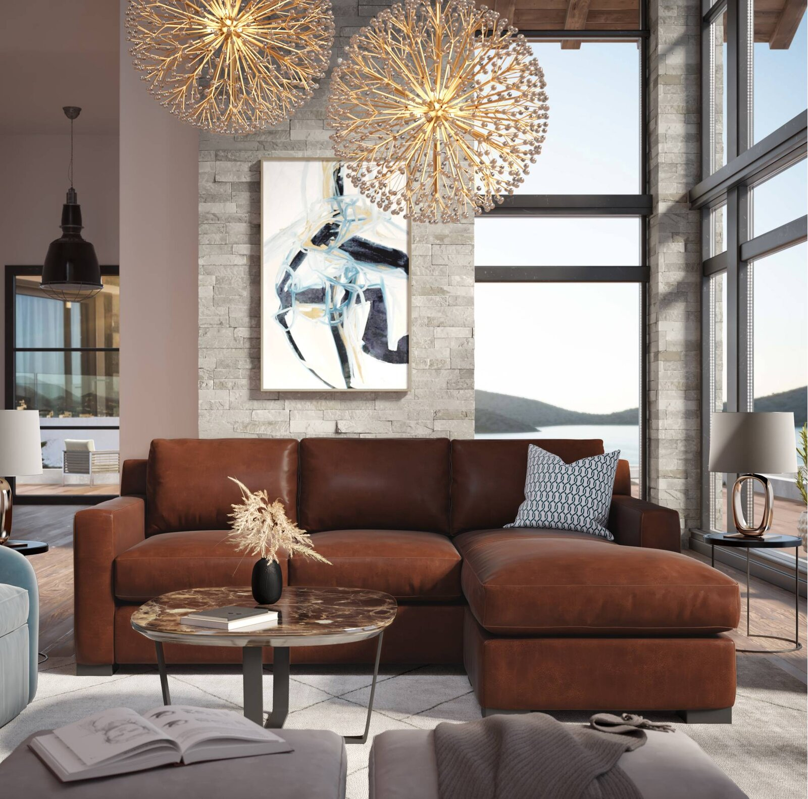 89-inch-small-sofa-with-chaise-genuine-leather-upholstery-in-reddish-brown-overstuffed-comfortable-couch-for-apartment-or-loft