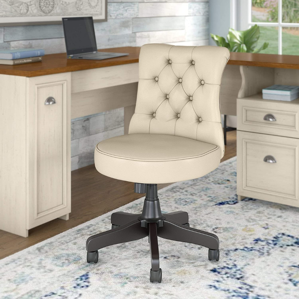 Armless-Tufted-Leather-Office-Chair