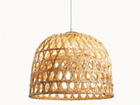 Bell-Shaped-Woven-Bamboo-Pendant-Light