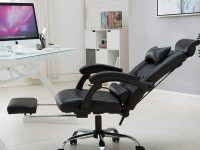 Black-Leather-Reclining-Office-Chair