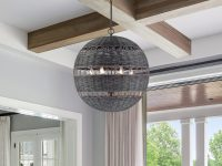 Black-Rattan-Ball-Pendant-Light
